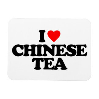 I LOVE CHINESE TEA FLEXIBLE MAGNETS