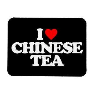 I LOVE CHINESE TEA VINYL MAGNETS