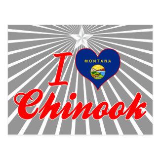 I Love Chinook, Montana Post Cards