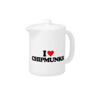 I LOVE CHIPMUNKS