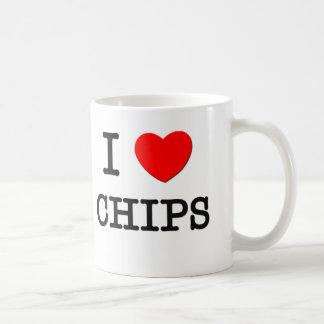 I Love Chips Coffee Mug