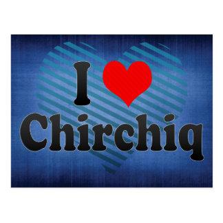 I Love Chirchiq, Uzbekistan Postcard