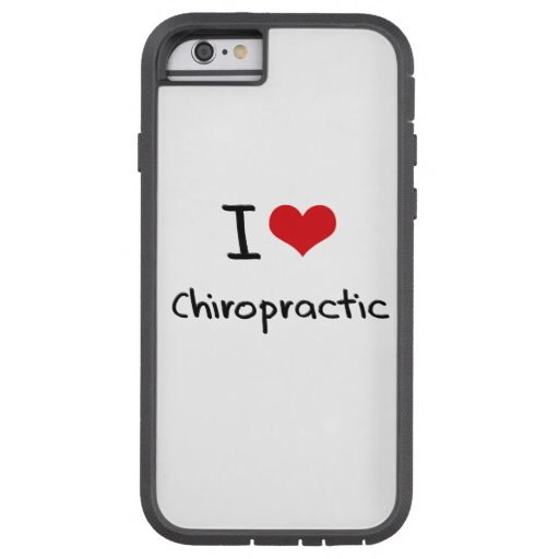 I love Chiropractic iPhone 6 Case