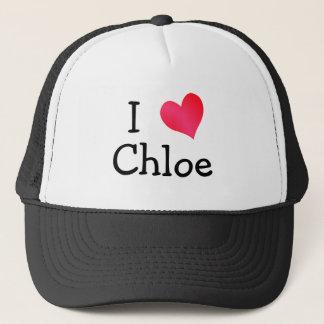 I Love Chloe Trucker Hat
