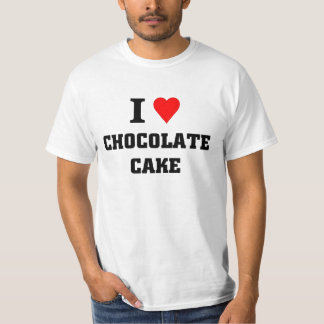I love Chocolate cake T-Shirt