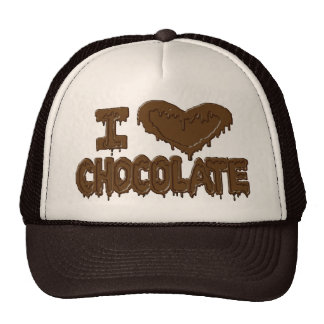 I love chocolate cap