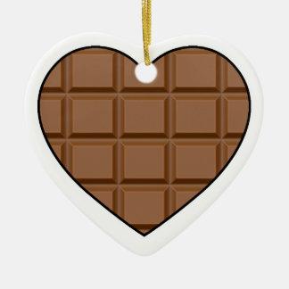 I Love Chocolate Christmas Ornament
