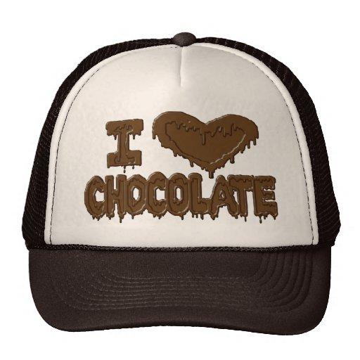 I love chocolate mesh hats