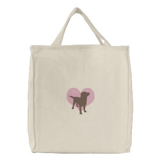 I Love Chocolate Labradors Bags
