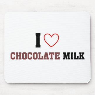 I love Chocolate Milk Mouse Mat