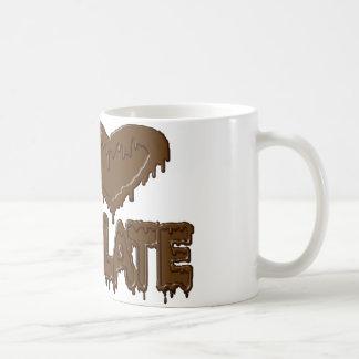 I love chocolate coffee mugs