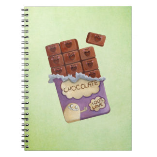 I love Chocolate Notebook