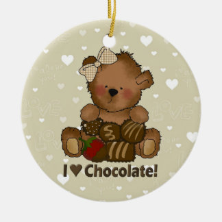 I Love Chocolate ornament
