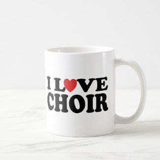 I Love Choir Coffee Mug