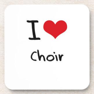 I love Choir Beverage Coasters