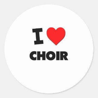 I love Choir Stickers
