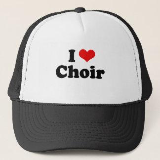I Love Choir Tshirt Trucker Hat