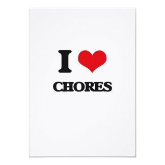 I love Chores Card