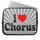 I love Chorus Laptop Sleeve