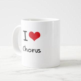 I love Chorus 20 Oz Large Ceramic Coffee Mug