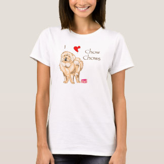 I Love Chow Chows T-Shirt