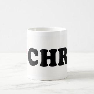 I LOVE CHRIS CLASSIC WHITE COFFEE MUG