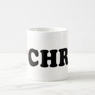 I LOVE CHRIS COFFEE MUG