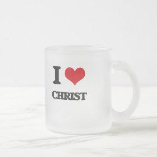 I love Christ Coffee Mugs