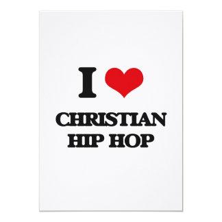 I Love CHRISTIAN HIP HOP Cards