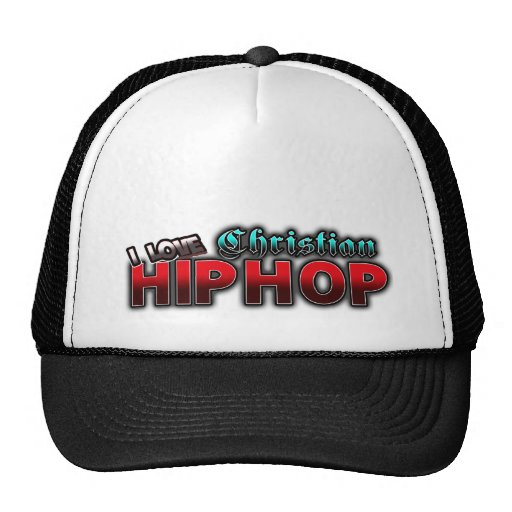 I Love Christian HIP HOP music Hats