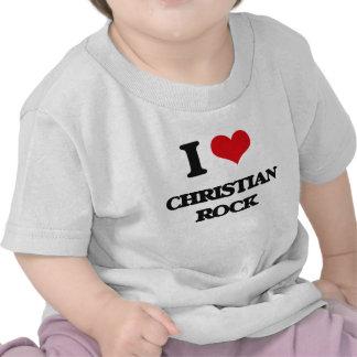 I Love CHRISTIAN ROCK T Shirt