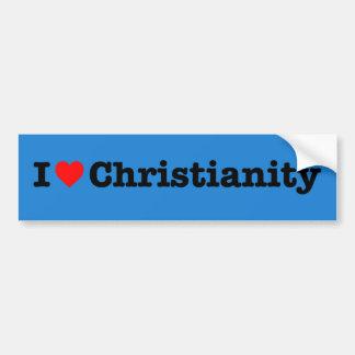 """I LOVE CHRISTIANITY"" BUMPER STICKER"