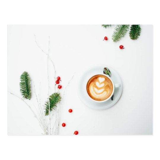 I love Christmas a Latte Postcard