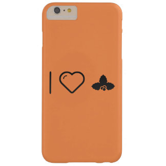 I Love Christmas Holly Barely There iPhone 6 Plus Case