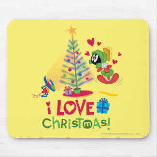 I Love Christmas - MARVIN THE MARTIAN™ Mouse Pad