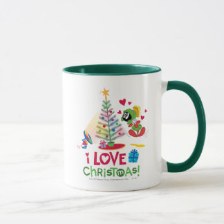 I Love Christmas - MARVIN THE MARTIAN™ Mug