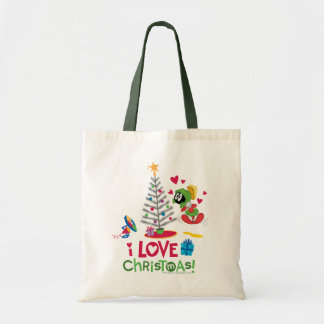 I Love Christmas - MARVIN THE MARTIAN™ Tote Bag