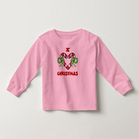 I Love Christmas Shirt