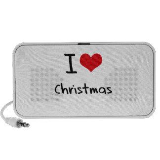 I love Christmas Travel Speaker