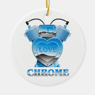 I Love Chrome - Ornament