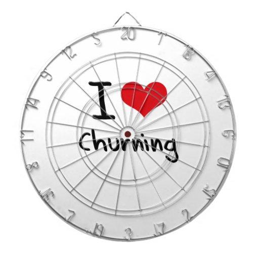 I love Churning Dartboard