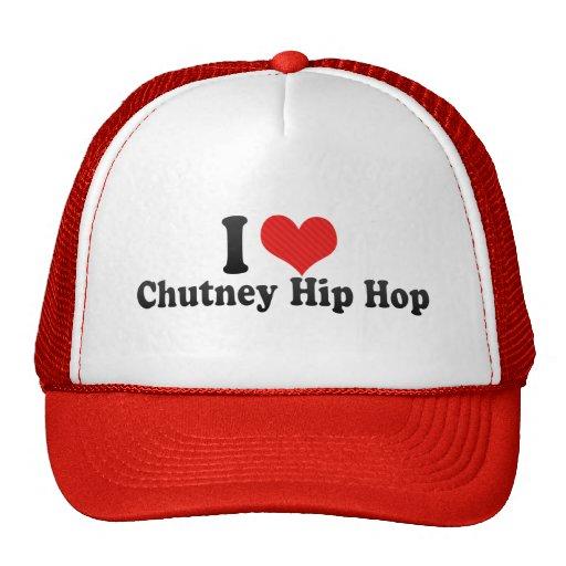 I Love Chutney Hip Hop Mesh Hats
