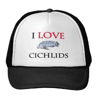 I Love Cichlids Hat