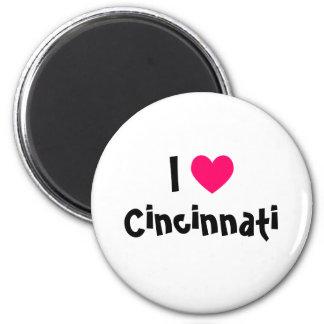 I Love Cincinnati Magnet
