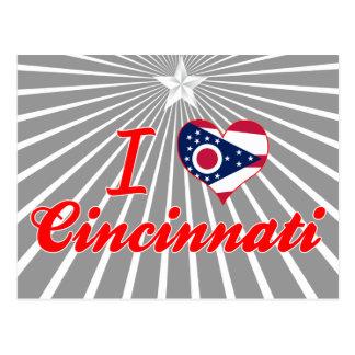 I Love Cincinnati, Ohio Post Cards