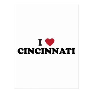 I love Cincinnati Ohio Postcard