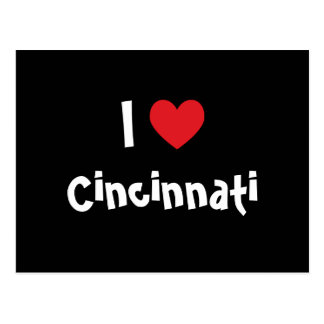 I Love Cincinnati Postcard