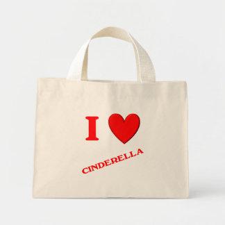 I Love Cinderella Tote Bag