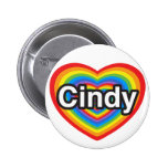 I love Cindy. I love you Cindy. Heart