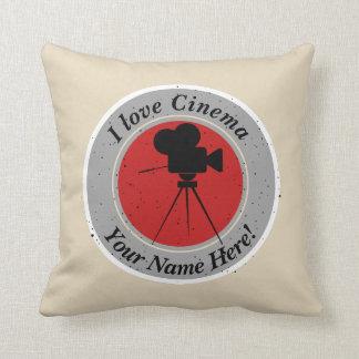 I love Cinema Cushion